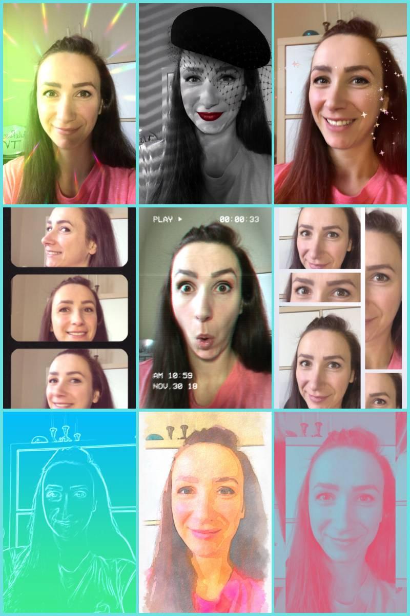 Aufmerksamkeit durch Facefilter