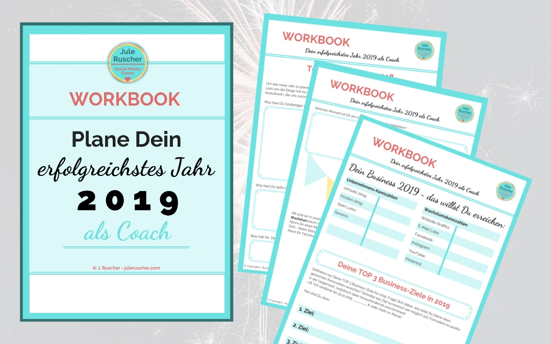 Workbook: Planung Deines Coaching Business in 2019