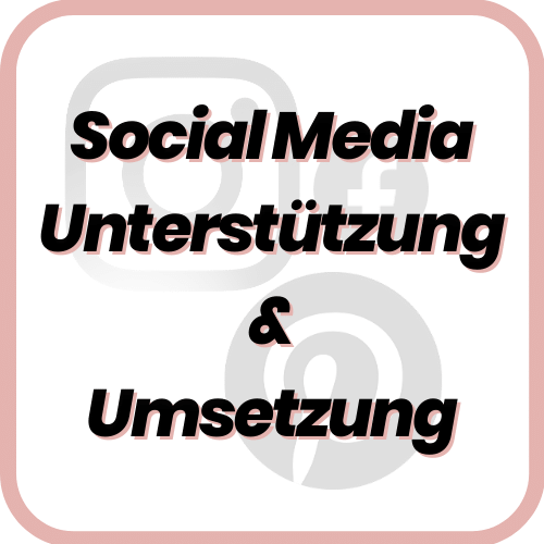 Social Media Unterstützung